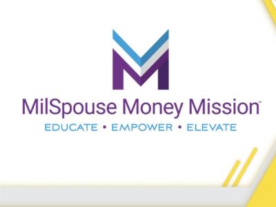 MilSpouse Money Mission Educate Empower Elevate