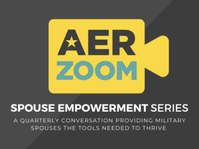 Spouse Empowerment Series. A quarterly conversation providing military spouses the tools needed to thrive