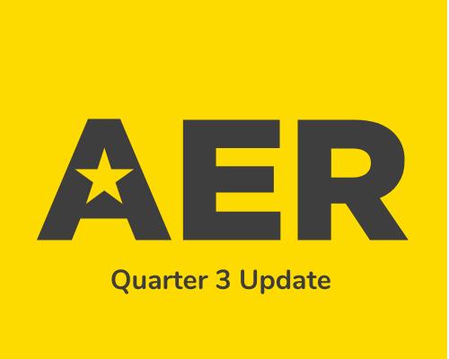 AER Q3 Update
